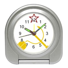 Cccp Mouse Pen Desk Alarm Clock