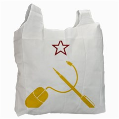 Cccp Mouse Pen Recycle Bag (One Side)