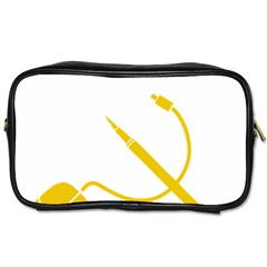 Cccp Mouse Pen Travel Toiletry Bag (Two Sides)