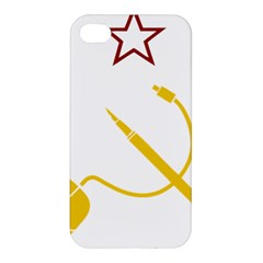 Cccp Mouse Pen Apple iPhone 4/4S Hardshell Case