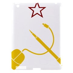 Cccp Mouse Pen Apple iPad 3/4 Hardshell Case (Compatible with Smart Cover)