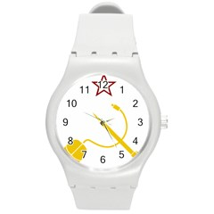 Cccp Mouse Pen Plastic Sport Watch (medium)