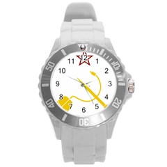 Cccp Mouse Pen Plastic Sport Watch (Large)