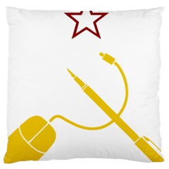 Cccp Mouse Pen Large Cushion Case (Single Sided)