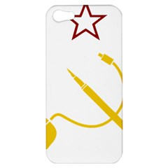 Cccp Mouse Pen Apple iPhone 5 Hardshell Case