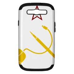 Cccp Mouse Pen Samsung Galaxy S III Hardshell Case (PC+Silicone)