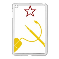 Cccp Mouse Pen Apple Ipad Mini Case (white)