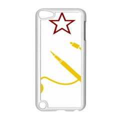 Cccp Mouse Pen Apple iPod Touch 5 Case (White)