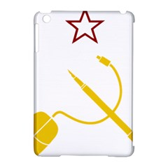 Cccp Mouse Pen Apple iPad Mini Hardshell Case (Compatible with Smart Cover)