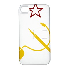 Cccp Mouse Pen Apple iPhone 4/4S Hardshell Case with Stand