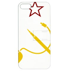 Cccp Mouse Pen Apple Iphone 5 Hardshell Case With Stand