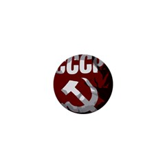 Cccp Soviet Union Flag 1  Mini Button