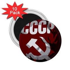 Cccp Soviet union flag 2.25  Magnet (10 pack)