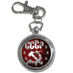 Cccp Soviet union flag Key Chain Watch
