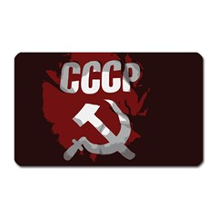 Cccp Soviet union flag Magnet (Rectangular)
