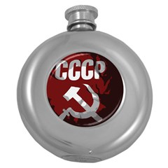 Cccp Soviet union flag Hip Flask (5 oz)