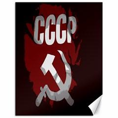 Cccp Soviet union flag Canvas 18  x 24