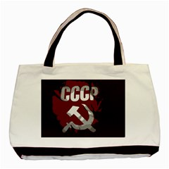 Cccp Soviet Union Flag Classic Tote Bag (two Sides)