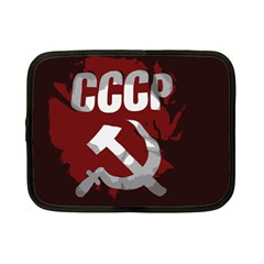 Cccp Soviet union flag Netbook Case (Small)