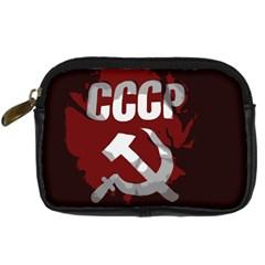 Cccp Soviet union flag Digital Camera Leather Case