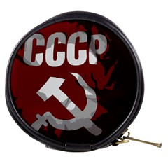 Cccp Soviet union flag Mini Makeup Bag