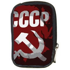 Cccp Soviet union flag Compact Camera Leather Case