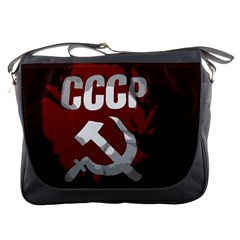 Cccp Soviet union flag Messenger Bag