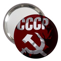Cccp Soviet union flag 3  Handbag Mirror
