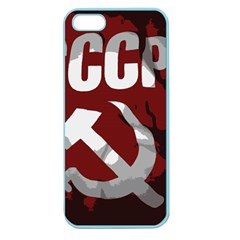 Cccp Soviet union flag Apple Seamless iPhone 5 Case (Color)