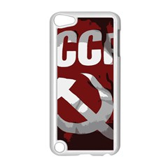 Cccp Soviet union flag Apple iPod Touch 5 Case (White)