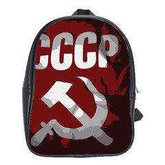 Cccp Soviet union flag School Bag (XL)