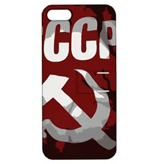 Cccp Soviet union flag Apple iPhone 5 Hardshell Case with Stand