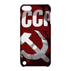 Cccp Soviet Union Flag Apple Ipod Touch 5 Hardshell Case With Stand