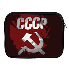 Cccp Soviet union flag Apple iPad 2/3/4 Zipper Case