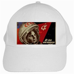 Soviet Union In Space White Baseball Cap