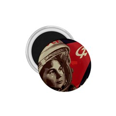 Soviet Union In Space 1.75  Button Magnet