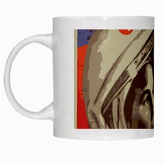Soviet Union In Space White Coffee Mug