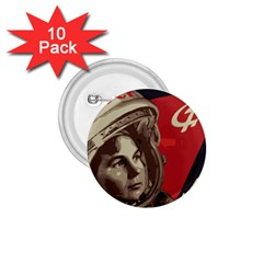 Soviet Union In Space 1 75  Button (10 Pack)