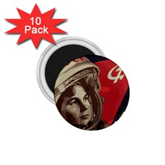 Soviet Union In Space 1.75  Button Magnet (10 pack)