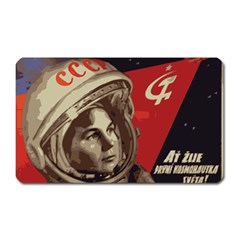 Soviet Union In Space Magnet (Rectangular)