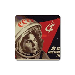 Soviet Union In Space Magnet (Square)