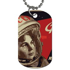 Soviet Union In Space Dog Tag (Two-sided)