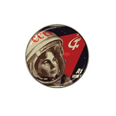 Soviet Union In Space Golf Ball Marker 4 Pack (for Hat Clip)