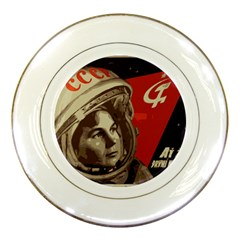 Soviet Union In Space Porcelain Display Plate