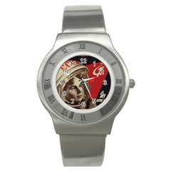 Soviet Union In Space Stainless Steel Watch (Unisex)