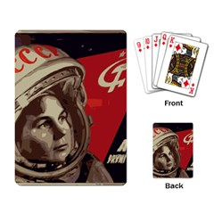 Soviet Union In Space Playing Cards Single Design