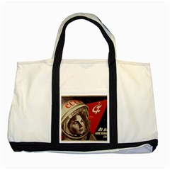 Soviet Union In Space Two Toned Tote Bag