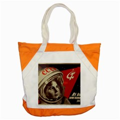 Soviet Union In Space Accent Tote Bag