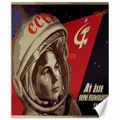 Soviet Union In Space Canvas 8  X 10  (unframed)