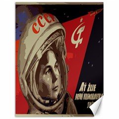 Soviet Union In Space Canvas 12  x 16  (Unframed)